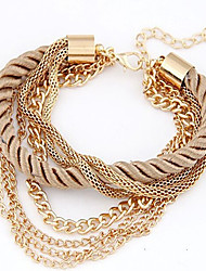 May Polly  Are all-match multilayer woven Bracelet Christmas Gifts
