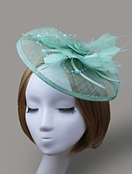Women Feather/Net Flowers/Hats With Wedding/Party Headpiece(More Colors)