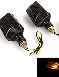 Motorcycle Turn Signal Blinker Indicator Light Lamp Bulb (2 Pcs)
