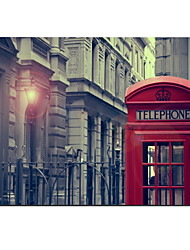 """Telephone Booth Design Full-Body Protective Case for 13""""/15"""" MacBook-Pro with Retina Display"""