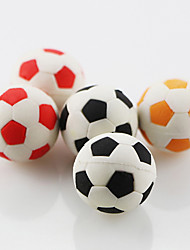 Cute Football Soccer Assemble Rubber Eraser (Random Color)