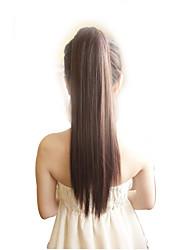 clip perruque de queues de cheval clip griffe droite résistant à queue de cheveux extension à long queue de cheval costume naturel faux