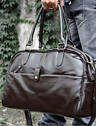 Men 's Weekend Bag Shoulder Bag - Brown/Black