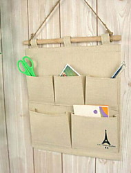 Fashion Cotton/Print Tower Hangers Storage Bags