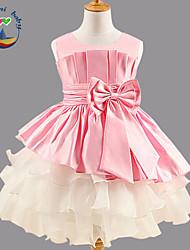 Mädchen Kleid/Kleidungs Set  -  Baumwollmischung Ärmellos Sommer