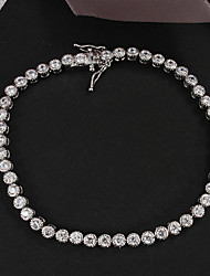 Hot Sale Party Platinum Plated Link/Chain Bracelet Wedding Jewelry for Men And Women