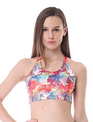 Yokaland Body Shaper Premium Classic Yoga and Fitness Bra with Print Sports Wear