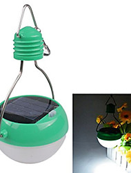 impermeabile portatile a energia solare 7LED risparmio energetico lampada lanterna di campeggio esterna
