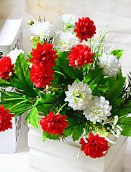 High Quality Artificial Flowers for Home Decoration Bright Color Silk Flower for Wedding Bouquet and Holiday Decorations