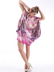 WEST BIKING® Soft And Comfortable Casual Loose Ladies Silk Pajamas