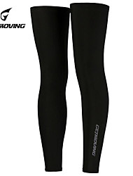 Getmoving Leg Warmers Cycling  Summer Ultralight Ultraviolet Resistant Black Leggings Leg Sleeves