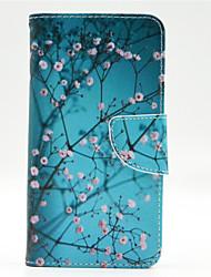 Pour Coque Nokia Portefeuille Porte Carte Avec Support Coque Coque Intégrale Coque Arbre Dur Cuir PU pour Nokia Nokia Lumia 640