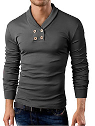 Ed Men's Casual Long Sleeve T-Shirts