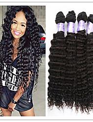 3pcs / lot brésilienne de cheveux vierge profonde vague 100% armure brésilienne de cheveux pas cher cheveux vierges bouclés brésilien