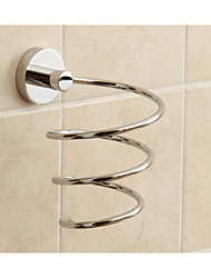 New Design Hotel Bathroom Brass Hair Dryer Holder