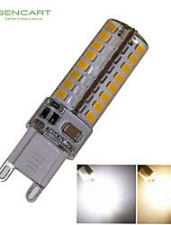 Lampadine a pannocchia 64 SMD 3020 G9 6 W Decorativo 550-650 LM Bianco caldo/Luce fredda AC 220-240 V