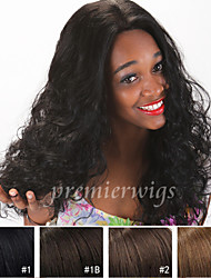 8''-24'' Natural Curly Remy Virgin Indian Human Hair Wigs Silk Top Full Lace Wigs With Baby Hair For Black Women