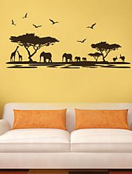 стены стикеры стены наклейки звериный стиль рай у моря пвх стены стикеры