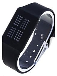 SDO movimento tocco di modo vigilanze digitali unisex silicone luce bianca LED Watch (colori assortiti)