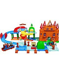 viking blocos tribo, brinquedos interessantes para crianças&brinquedo educação, blocos sólidos, micro-simulação de tráfego