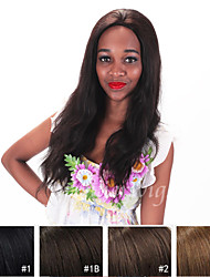 12''-26''7A Brazilian Virgin Human Hair Wigs Long Natural Straight Wigs Lace Front Wigs With Baby Hair For Black Women
