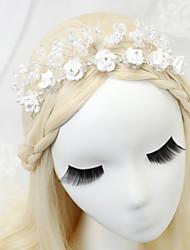 Strass Alliage Imitation de perle Casque-Mariage Occasion spéciale Chaîne pour Cheveux
