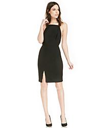 Women's American Apparel Backless Sexy Slim Fit Dress