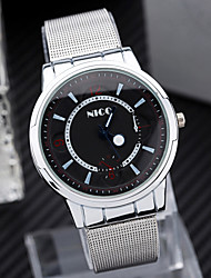 Men'S Watch Simple Cool Watches Fishtion Belt Alloy Watch Wrist Watch Cool Watch Unique Watch