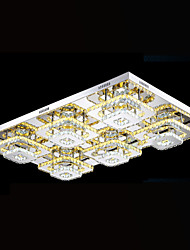 Modern LED Ceiling Lighting Pendant Lights Chandelier Lamps Fixtures with Clear or Amber K9 Crystal CE UL