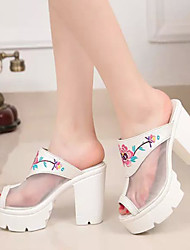 Women's Shoes Blue/White Others Pumps/Heels (Rubber)