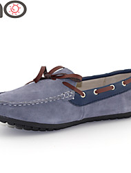 MO Men Casual Driving Shoes Luxury Sneaker Leather Doug Shoes