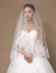 Wedding Veil One-tier Elbow Veils/Fingertip Veils