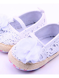 Baby Shoes Casual Fabric Flats Pink/White