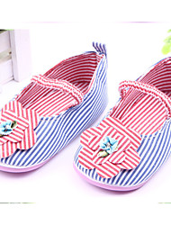 Baby Shoes Casual Fabric Flats Blue/Red