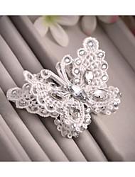 Butterfly Hair Accessories Hairpin Wedding U Korean Wedding Dress the Bride Headdress Flower