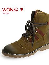 Zapatos de Hombre Exterior/Casual/Deporte Cuero Botas Marrón/Bronce
