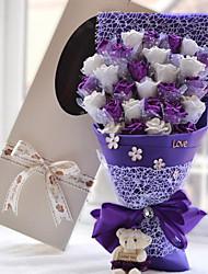 Cartoon Bouquet Wedding Gift Bluelover