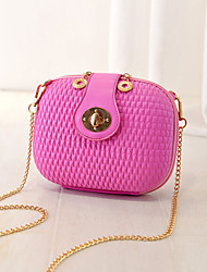 Women 's PU Evening Bag - White/Pink/Purple/Blue/Silver/Black