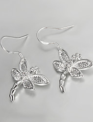 S925 Dragon Drop Earring Design for Women Party Jewelry for Girl Fashion Fine Accessories