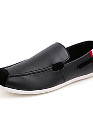 Men's Shoes Casual Loafers Black/White