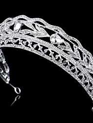 Women/Flower Girl Bridal Rhinestone Crystal Flower Cown Tiaras With Wedding/Party Headpiece Queen Stlye