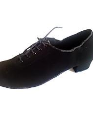 Chaussures de danse (Noir Suédé - Danse latine/Salsa/Chaussures Classiques