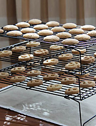 1-Tier Non-stick Baking Cooling Rack Set Bakeware Cookie Holder Display Grids