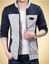 Men's Casual/Work/Formal/Plus Sizes Long Sleeve Regular Jacket