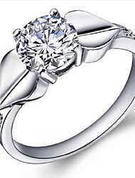Alliances Femme Diamant Argent Argent