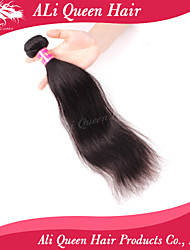 Ali Queen Hair Products 6A Brazilian Remy Hair Straight 10-30Inch 100% Unprocessed Remy Human Hair Extensions