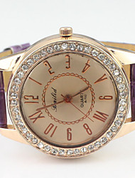 Women's Watch Fashion Diamante Luxury Round Dial