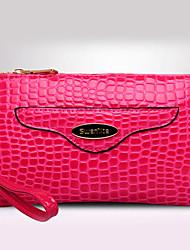 Formal / Casual / De Compras - Bolso de Hombro / Bolso de Mano - PU - Beige / Azul / Rojo / Negro / Borgoña - Mujer