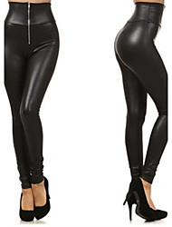 Pantalones ( PU )- Casual Mujer