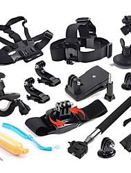 Accessoires pour GoPro,Monopied Trépied Sacs Vis Grande Fixation Ventouse Caméra Sportive Avec Bretelles Clip Poignées FixationPour-